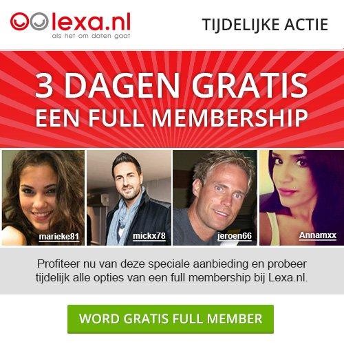 lexa aanbieding